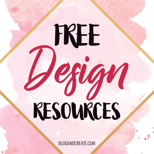New Free Design Resources at Least Once a Week